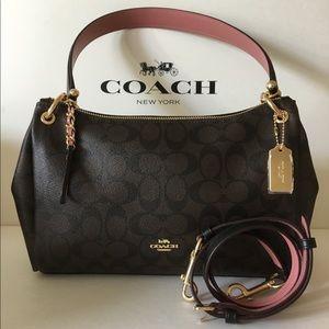 🌷Authentic Coach Small Mia Shoulder Bag NWT.